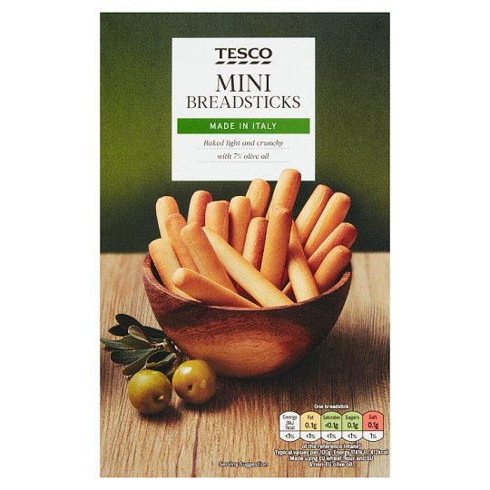 Tesco Original Mini Breadsticks 100G