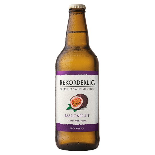 image 1 of Rekorderlig Passion Fruit Cider 500Ml Bottle