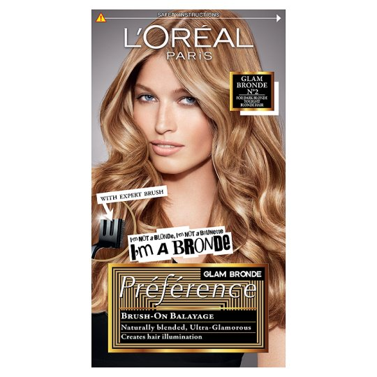 L Oreal Paris Preference Glam Dark To Light Blonde