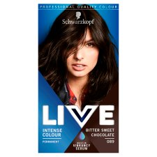 Schwarzkopf Live Intensive Color 089 Chocolate Hair Dye