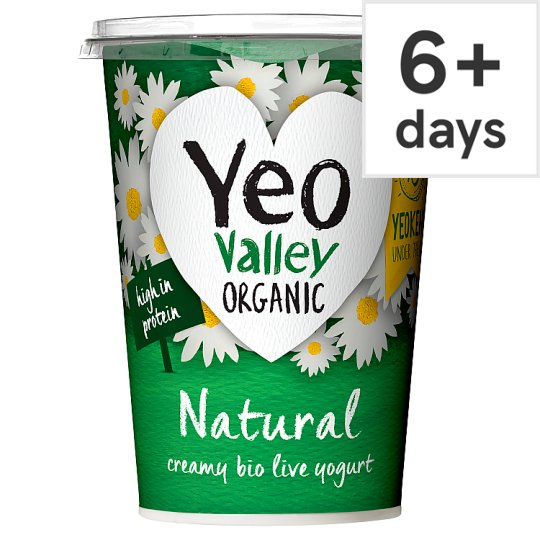 Yeo Valley Natural Yogurt 500G