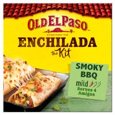 Old El Paso Smoky Bbq Enchilada Kit 470G