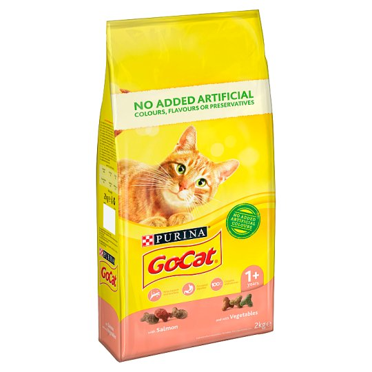 Go Cat Salmon And Vegetable 2Kg