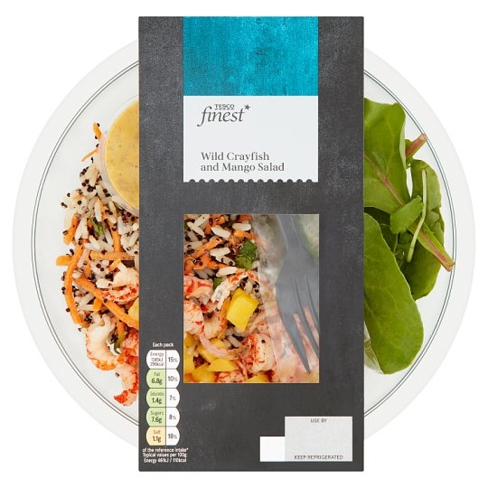 Tesco Finest Crayfish And Mango Salad 270G
