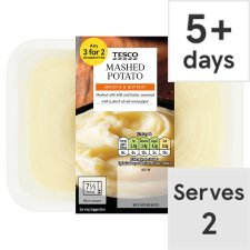 Tesco Maris Piper Mashed Potato 425G