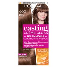image 1 of L'oreal Casting Creme Gloss Light Brown 600 Semi-Permanent Hair Dye