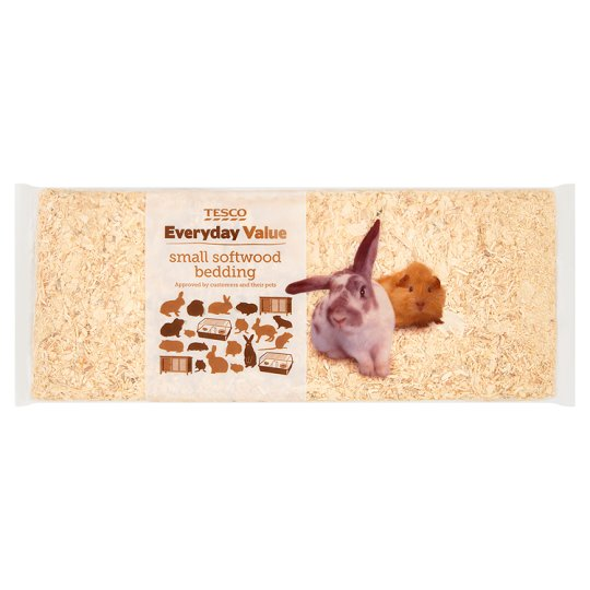 Tesco Everyday Value Small Softwood Bedding