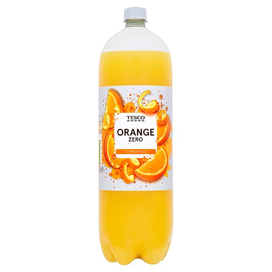 Tesco Orange Zero 2 Litre