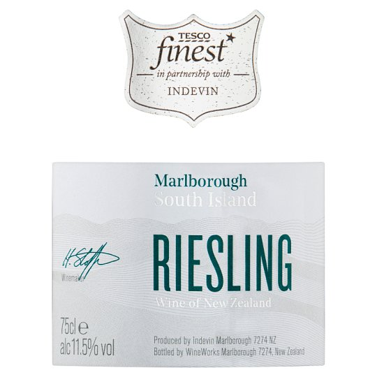 Tesco Finest Riesling 75Cl