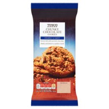 Tesco Chunky Chocolate 10 Cookies 200G