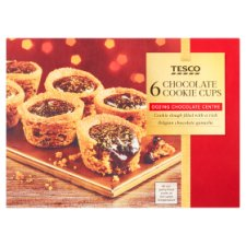 Tesco 6 S'mores Cookie Cups 144G