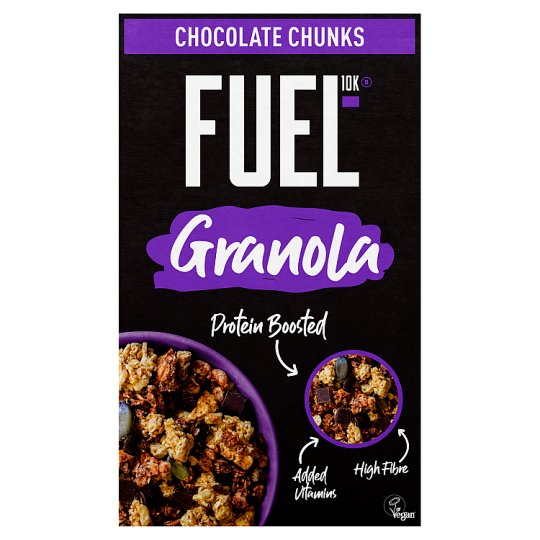 Fuel 10K Chocolate Loaded Granola 400G