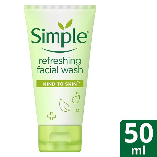 Simple Kind To Skin Refresh Facial Wash Gel 50Ml