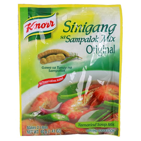Knorr Sinigang Tamarind Soup Mix 40G
