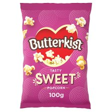 image 1 of Butterkist Cinema Sweet Popcorn 100 G