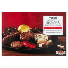 Tesco Chocolate Biscuit Assortment 450G