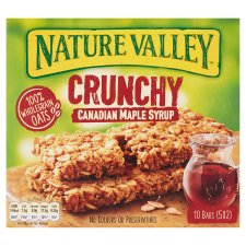 Nature Valley Crunchy Granola Canadian Maple Syrup Bar 5X42g