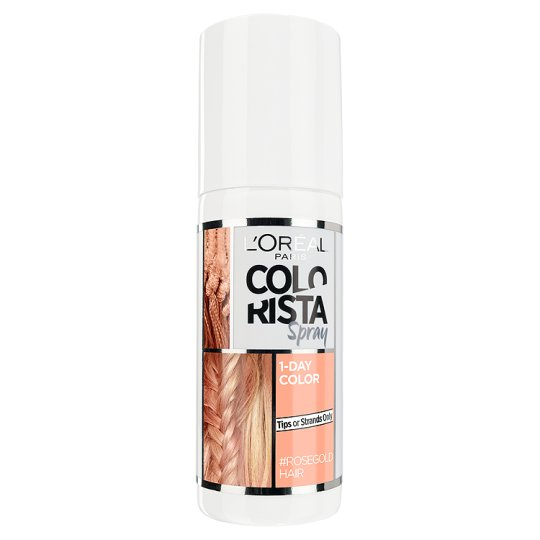 image 1 of L'Oreal Colorista Spray Rose Gold Temptations Hair Colour