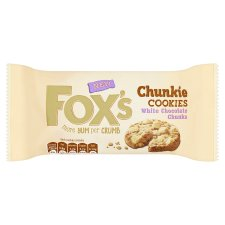Fox's White Chocolate Chunky Cookies 180G