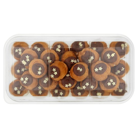 Tesco Easy Entertaining 32 Belgian Chocolate Profiterole Stack