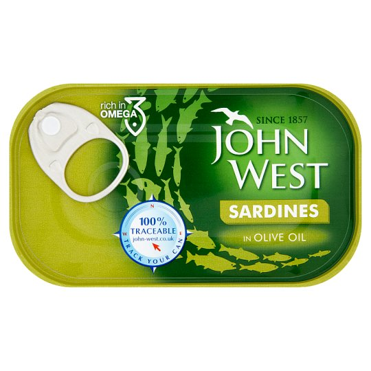 John West Sardines Olive Oil 120Gm