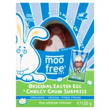 Moo Free Free From Original Egg & Chocolate Surprise 120G
