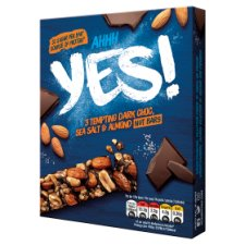Yes Dark Chocolate Sea Salt And Almond Nuts Bars 3X35g