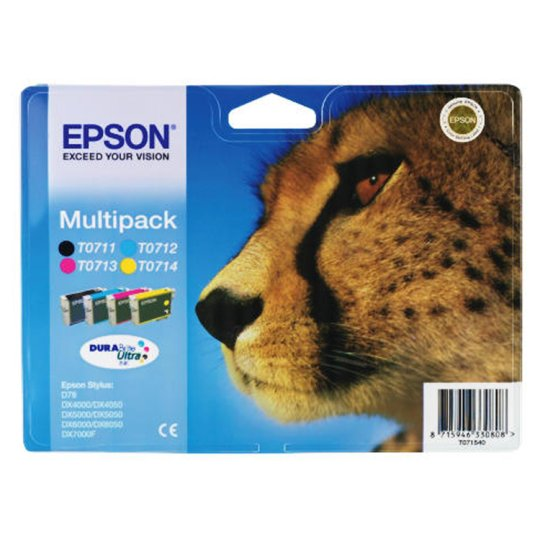 Epson T0715 Mult Ipack Ink