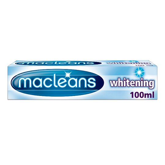 Macleans Whitening Toothpaste 100ml Groceries Tesco