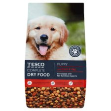 Tesco Complete Puppy Dry Food Beef And Vegetable 2.5Kg