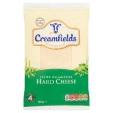 Creamfields Grated Italian Hard Cheese 150G
