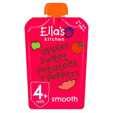 Ella's Red Peppers Sweet Potatoes And Apple Stage 1 X 120G