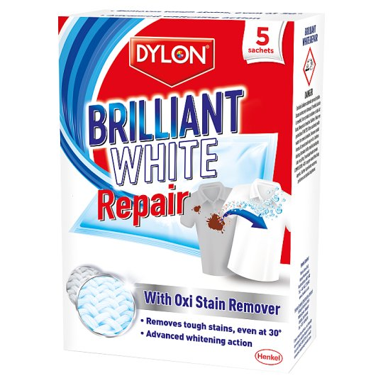 Dylon Brilliant White Repair 5 Sachets 150G