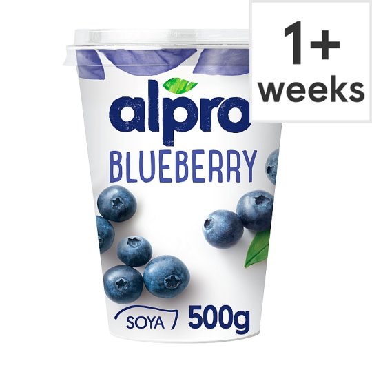 Alpro Big Pot Blueberry Yogurt Alternative 500G