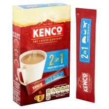 image 2 of Kenco 2 In 1 Instant Smooth White Coffee 5 Sachet 70G