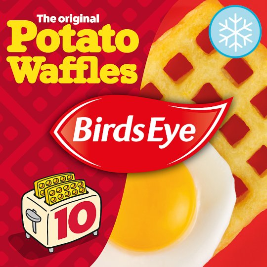 Birds Eye 10 Potato Waffles 567G - Groceries - Tesco Groceries