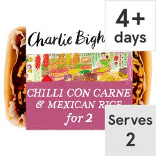 Charlie Bigham's Chilli Con Carne And Rice 840G