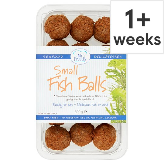 Mr Freeds Small Fried Fish Balls 300G