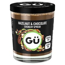 Gu Crunchy Chocolate And Hazelnut Spread 200G