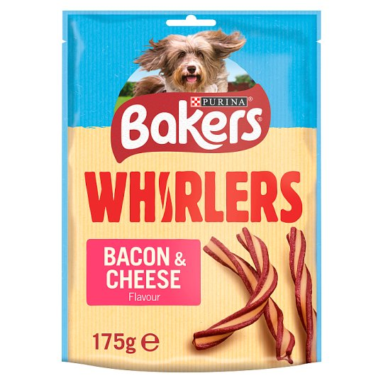 Bakers Whirlers Bacon And Cheese 175G