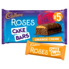 Cadbury Roses Orange Cake Bar 5 Pack
