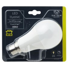 Tesco Led Classic 100W Bayonet Cap Dimmable