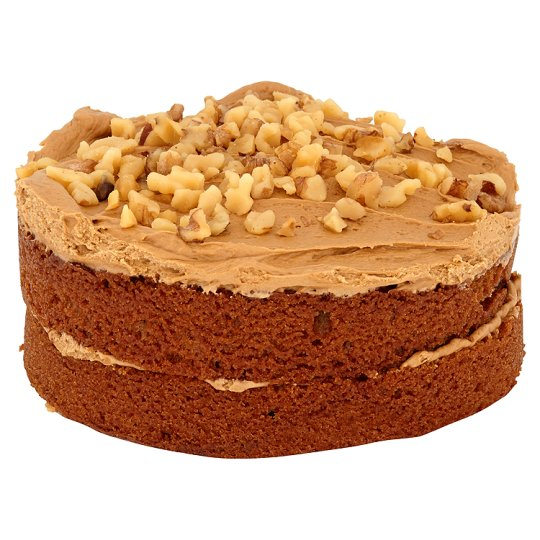 Tesco Finest Coffee And Walnut Cake