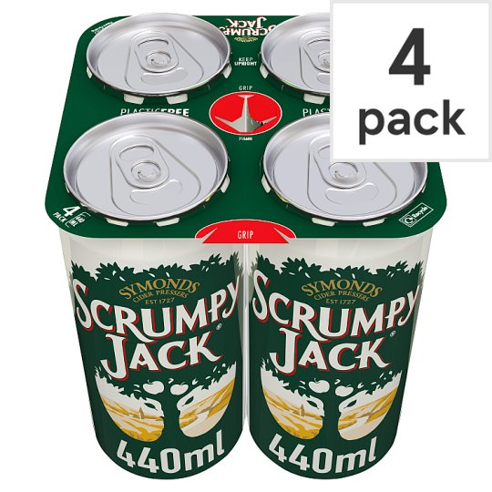Scrumpy Jack Apple Cider 4X440ml Can