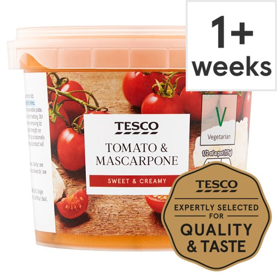 Tesco Tomato And Mascarpone Sauce 350G