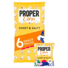 image 2 of Propercorn Sweet And Salty Popcorn 6X14g