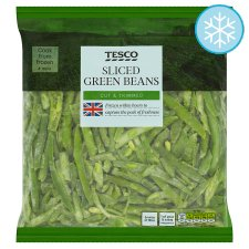 Tesco Sliced Green Beans 850G