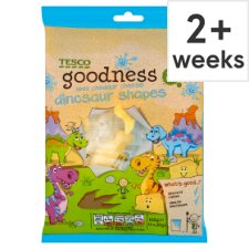 Tesco Goodness Mild Cheddar Cheese Shapes 5 X20g