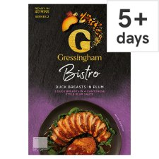 Gressingham Duck Breasts In Plum Sauce 400G
