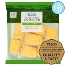 Tesco Supersweet Mini Corn On The Cob 875G